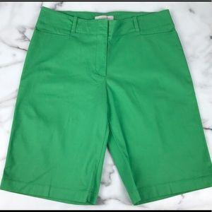 NWOT..Talbots Shorts Navy Blue *Plus Size 14*